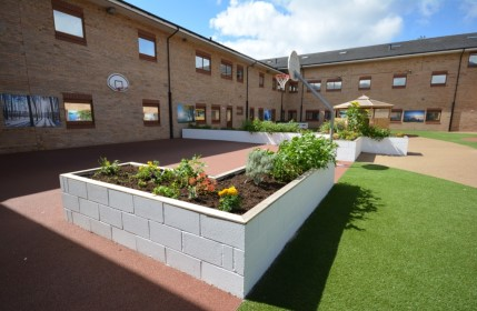 The improvements to Cygnet Hospital Bierley's courtyard was praised by the Quality Network review team.