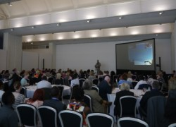 Cygnet Hospital Ealing's Dr Kevin Healey introducing the afternoon session of the conference.