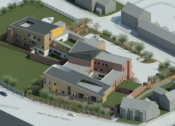 An artist's impression of how Cygnet Hospital Coventry will look upon completion