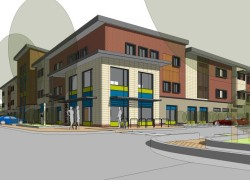 Artists drawing of Cygnet Hospital Maidstone