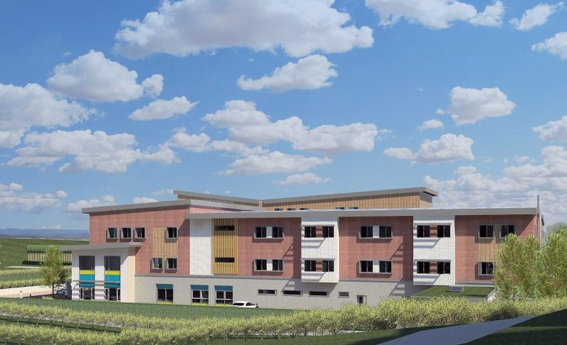 An impression of how Cygnet Hospital Maidstone will look upon completion