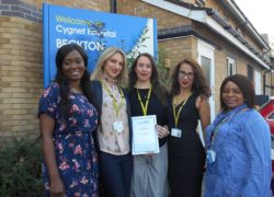 The DBT team at Cygnet Hospital Beckton