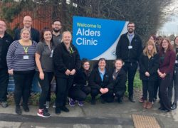 The team at Cygnet Alders Clinic
