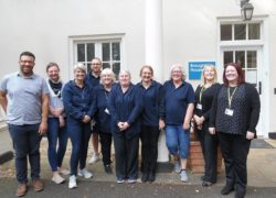 The team at Broughton House