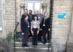 The staff team at Gledholt