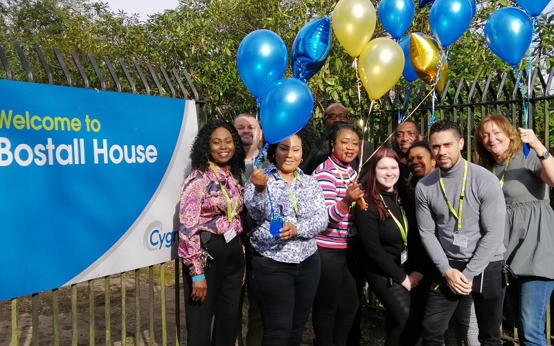 The team at Cygnet Bostall House celebrate their CQC rating