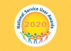 National Service User Awards Logo